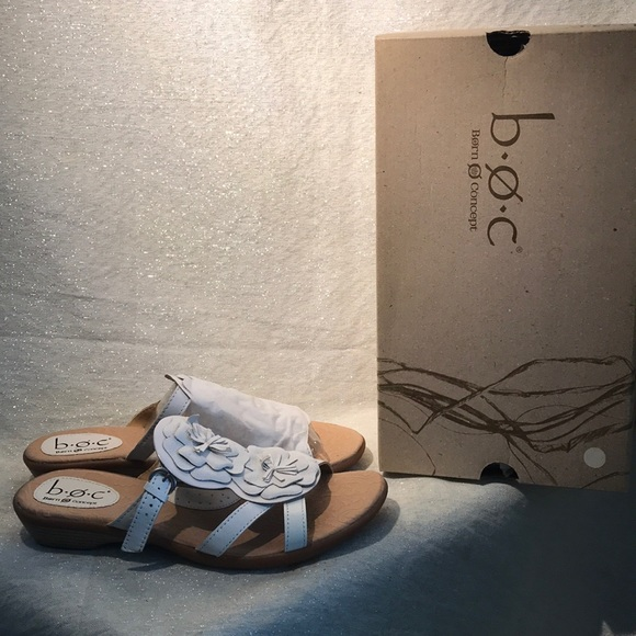B.O.C juniper 11 white sandals size 9 women s 0593fc06d